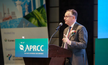 PolyMirae CEO Delivers Keynote Speech at APRCC 2019